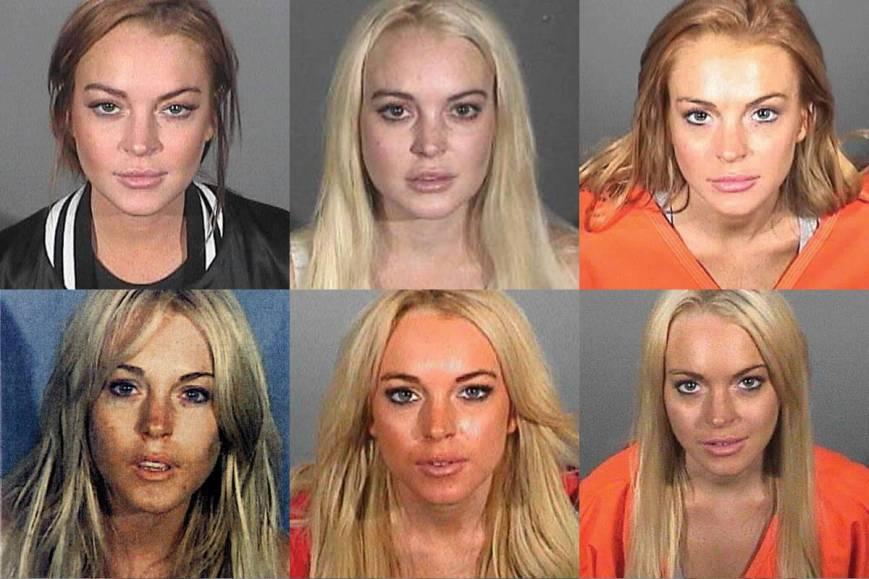 Lindsay Lohan Mugshots