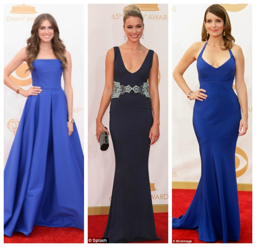 Alison Williams Ralph Lauren, Katrina Bowden, Tina Fey Narcisco Rodriguez