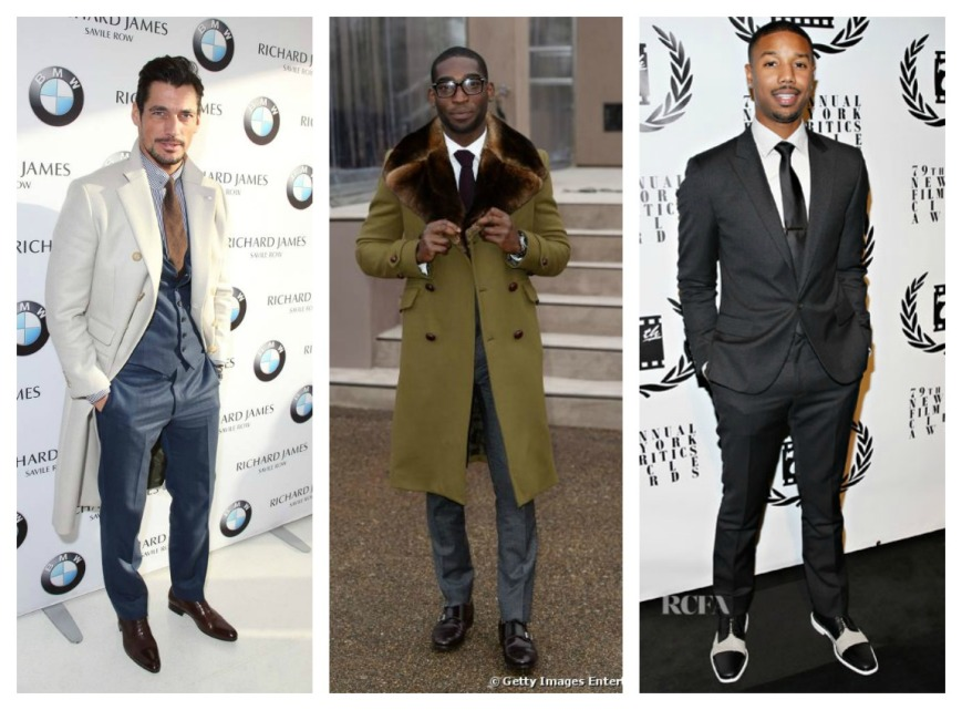 David Gandy Tinnie Tempah Michael B Jordan