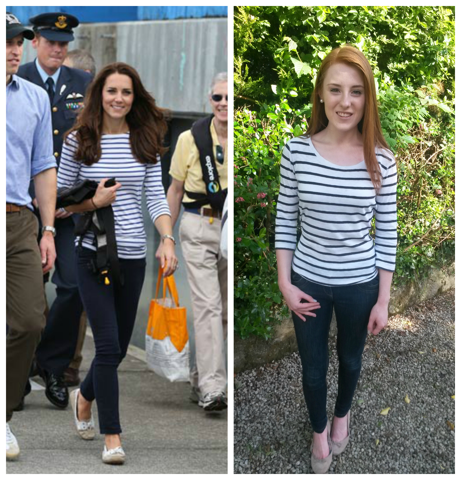 What Kate Wore Kate Casual Stripes