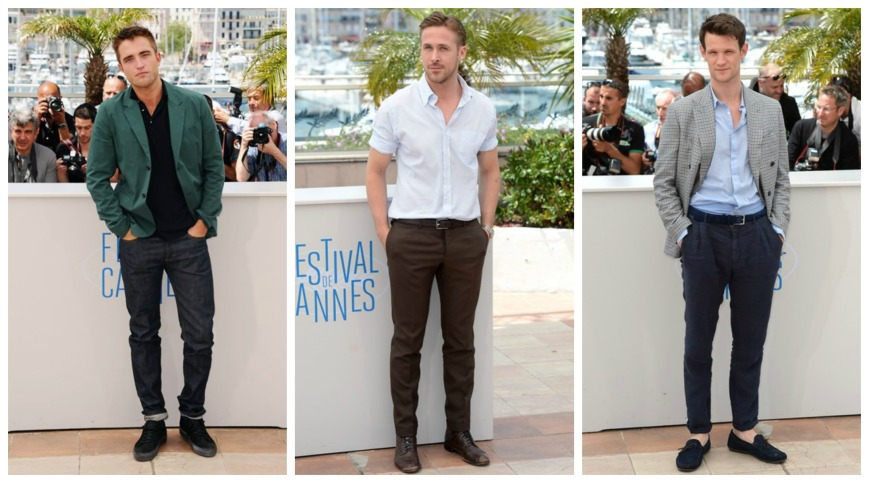Robert Pattinson, Ryan Gosling and Matt Smith